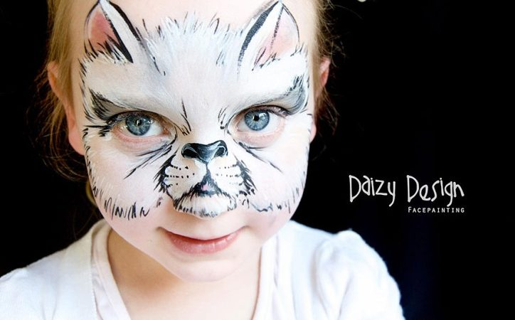 Christy Lewis Turns Her Kids` Faces Into Fantasy Creatures