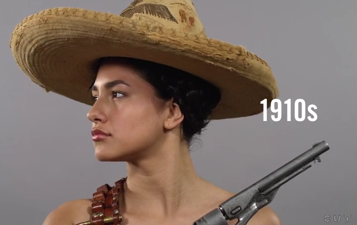 100 Years of Beauty in 1 Minute: Mexico