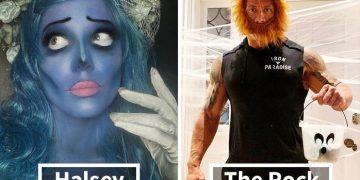 Celebrity Halloween Costumes 2020